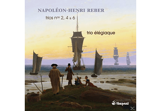 Trio Elegiaque - Klaviertrios 2,4 & 6 - (CD)