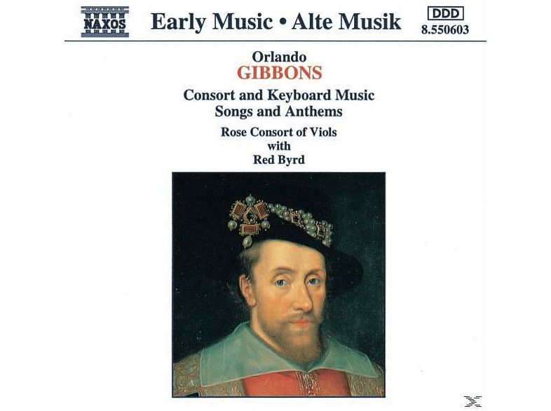 Rose Consort Of Viols, Byrd & Rose Consort Of Viols - Konsortmusik [CD]