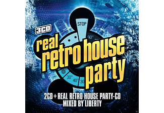 Real Retro House Party CD