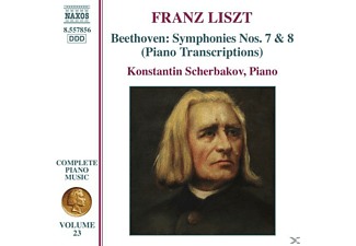 VARIOUS, Konstantin Scherbakov - Sinfonien 7+8 (Klaviertranskiption) - (CD)