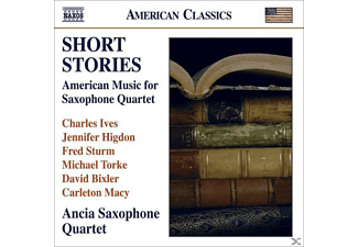 Ancia Saxophone Quartet - Short Stories - (CD)