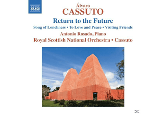 Cassuto/Rosado/Royal Scott.NO., Alvaro & Royal Scottish No Cassuto - Return to the Future - (CD)