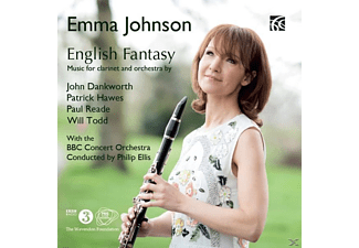 Emma Johnson - English Fantasy - (CD)