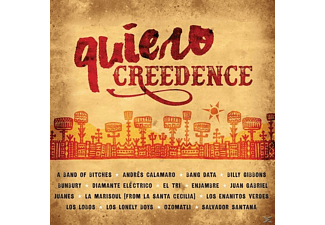 VARIOUS - Quiero Creedence - (CD)