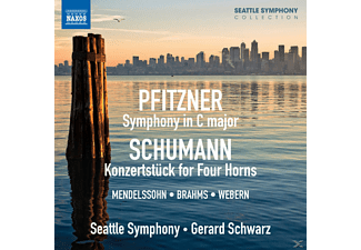 Gerard Schwarz, The Seattle Symphony - Symphony in C major - (CD)