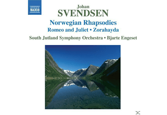 VARIOUS, Bjarte/south Jutland So Engeset - Norwegian Rhapsodies - (CD)