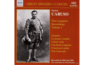 Enrico Caruso - Complete Recordings Vol.1 - (CD)