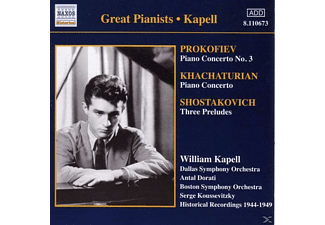 Dorati, William Kapell, Koussevi, William/dorati/koussevi Kapell - Klavierkonzert 3/+ - (CD)