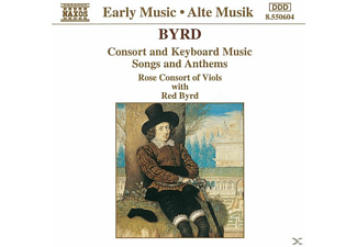 Rose Consort Of Viols, Red Byrd - Konsortmusik - (CD)