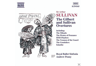 VARIOUS, A./Royal Ballet Sinfonia Penny - Gilbert-/Sullivan-Ouvertüren - (CD)