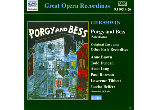 VARIOUS, Brown, Duncan, Long, Smallens, Smallens/Brown/Duncan/Long/+ - Porgy And Bess - (CD)