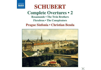 VARIOUS, Christian/prague Sinfonia Benda - Ouvertüren Vol.2 - (CD)
