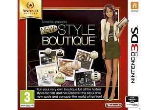 Nintendo presents: New Style Boutique NL 3DS