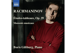 Boris Giltburg - Rachmaninoff: Etudes-Tableaux & Moments musicaux - (CD)