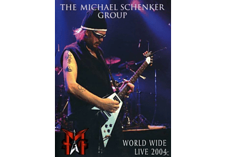 Michael Schenker Group - World Wide Live 2004 - (DVD + CD)