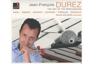 Jean-francois Durez - The Art Of The Percussion - (CD)