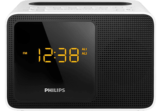 PHILIPS Wekkerradio Bluetooth met docking station (AJT5300W/12)