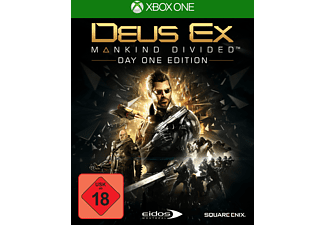 Deus Ex - Mankind Divided (Day One Edition inkl. Steelbook) - Xbox One