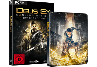 Deus Ex - Mankind Divided (Day One Edition inkl. Steelbook) [PC]