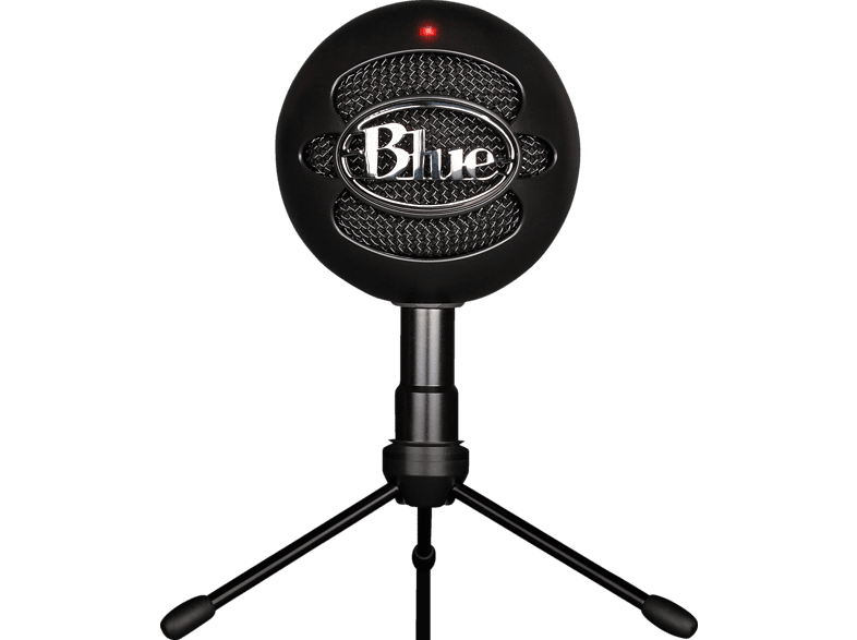 BLUE MICROPHONES Snowball iCE Black USB Mikrofon, Schwarz