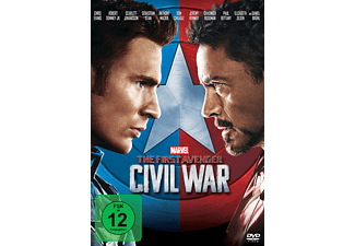 The First Avenger: Civil War - (DVD)