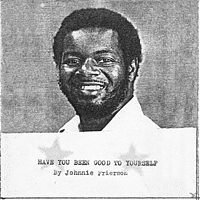 Johnnie Frierson - Have You Been Good To Yourself [LP + Download]