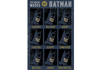 DC Comics Poster The Many Moods of Batman