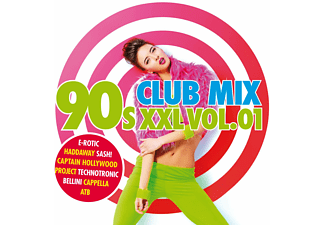 VARIOUS - 90s Clubmix XXL Vol.1 - (CD)