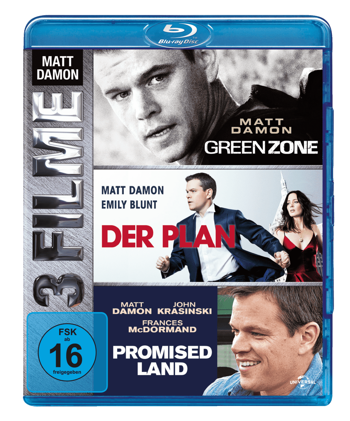 Green Zone, Der Plan, Promised Land - (Blu-ray)