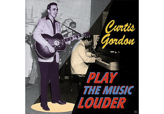 Grodon Curtis - Play The Music Louder - (CD)
