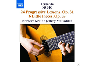 Kraft,Norbert/McFadden,Jeffrey - 24 Progressive Lessons op.31/6 Little Pieces op.32 - (CD)