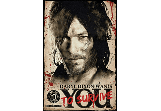 The Walking Dead Poster Daryl Wants You to Survive