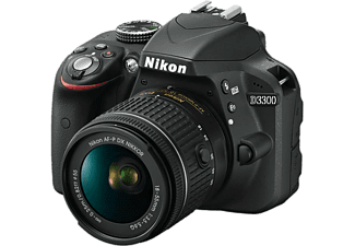 NIKON D3300 + AF-P 18-55 MM Black Kit