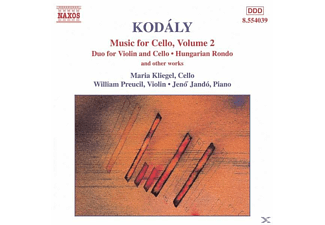 Maria Kliegel, William Preucil, Jeno Jando - Musik Für Cello Vol.2 - (CD)
