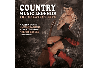 VARIOUS - Country Music Legends - (CD)