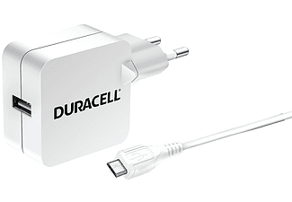 DURACELL Travel Charger Single USB 2.4Α - (DMAC10W-EU)