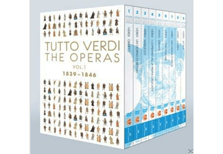 Tutto Verdi, VARIOUS - Tutto Verdi Operas Vol.1 - (Blu-ray)