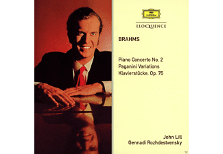 John Lill, The Ussr  Radio Symphony Orchestra - Lill Plays Brahms - (CD)