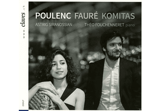 Astrig Siranossian, Theo Fouchenneret - Poulenc / Faure / Komitas - (CD)