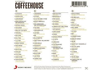 VARIOUS - Ultimate... Coffeehouse - (CD)