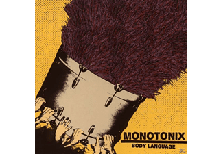 Monotonix - Body Language (EP) - (CD)