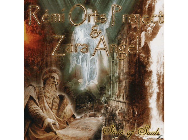 Rémi Orts Project, Zara Angel - State of Souls [CD]