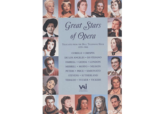 Di Stefano, Tebaldi, Merrill, Stevens - Great Stars Of Opera - (DVD)