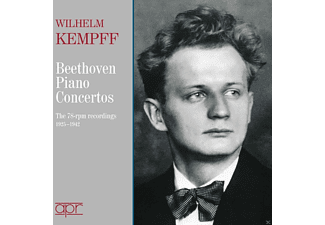 Wilhelm Kempff, VARIOUS - The Beethoven Piano Concertos - (CD)