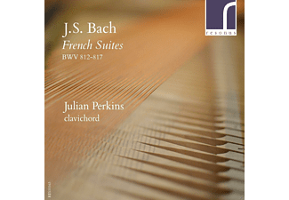 Julian Perkins - French Suites BWV 812-817 - (CD)