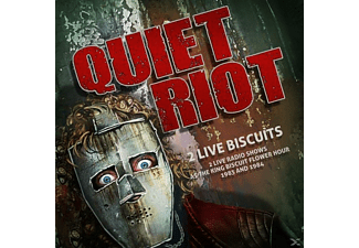 Quiet Riot - 2 Live Biscuits-2 Live Radio Shows At The King B - (CD)