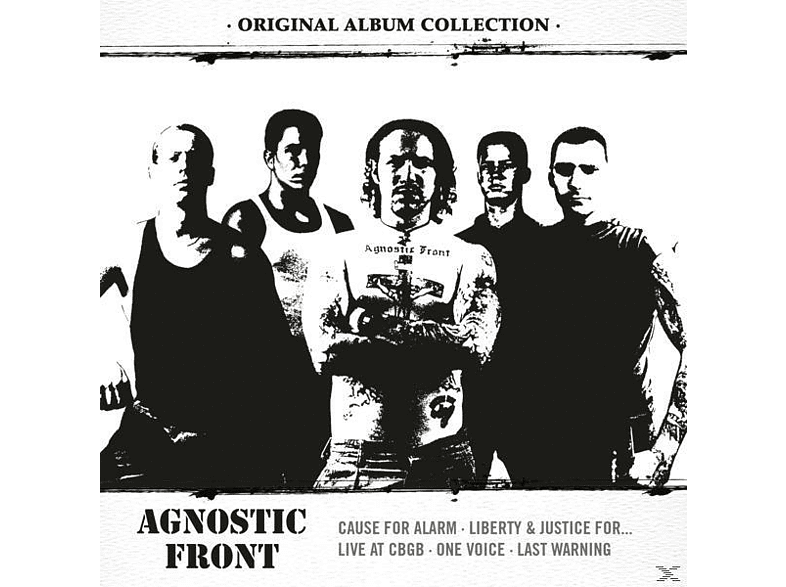 Agnostic Front - Original Album Collection: Discovering AGNOSTIC FR [CD]