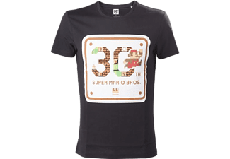 Heren T-shirt - 30Th Anniversary Super Mario Bros, maat L | T-Shirt