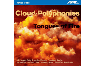 Mdr Leipzig Radio Choir, Ear Message Percussion Quartet, Yale Percussion Group - Cloud Polyphonies/Tongues Of Fire - (CD)