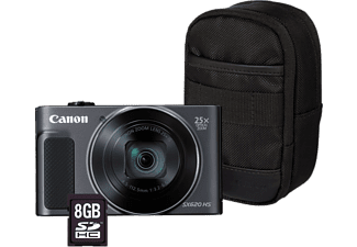 CANON Digitalkamera PowerShot SX620 HS Essentials Kit, schwarz